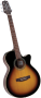 Электроакустическая гитара Takamine EG260C-BSB